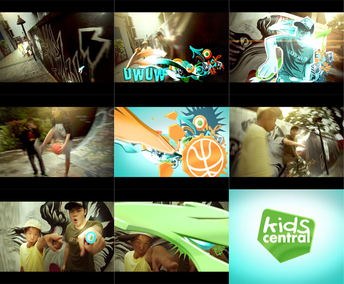 Mediacorp TV Kids Central Channel Re-brand feat. Ident Beat-boxers