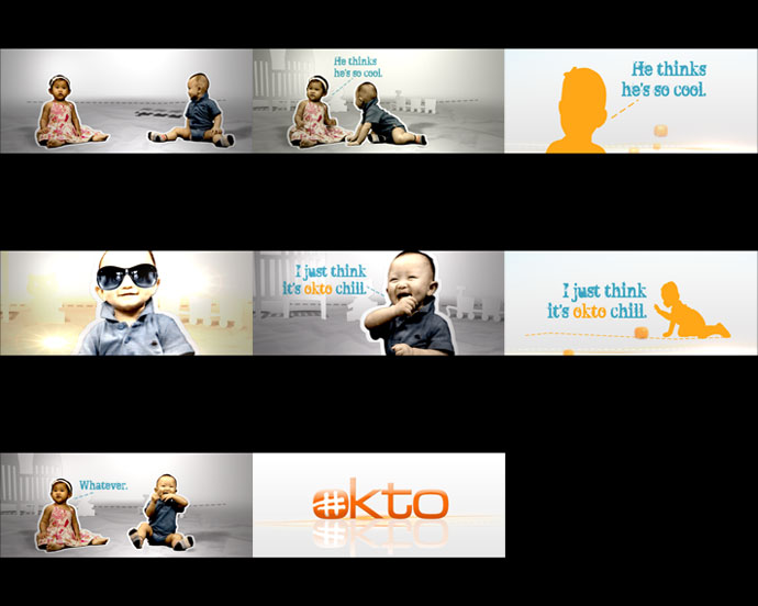 Mediacorp TV okto Channel Branding feat. Ident Babies