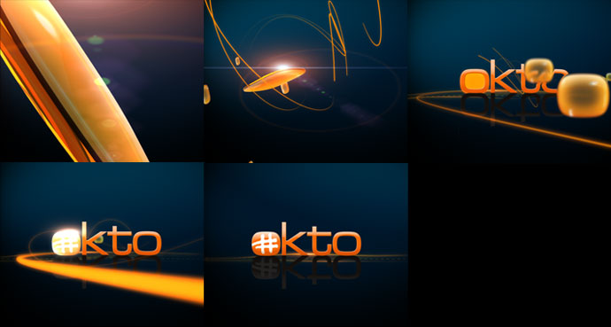 Mediacorp TV okto Channel Branding feat. Graphic Ident
