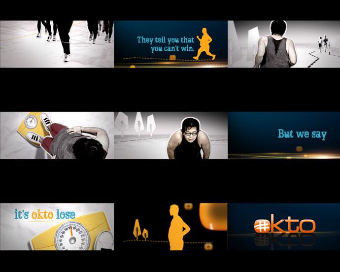 Mediacorp TV okto Channel Branding feat. Ident Loser
