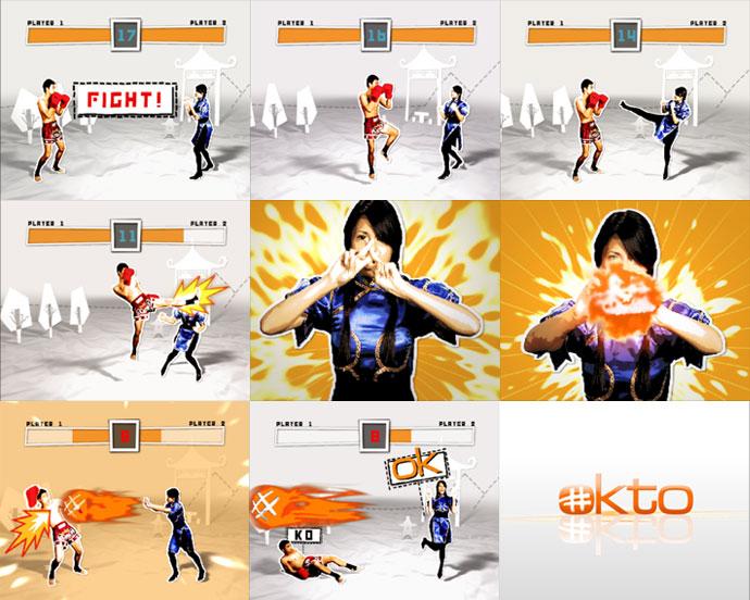 Mediacorp TV okto Channel Branding feat. Ident Streetfighter
